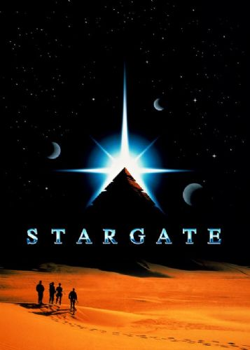 1990's Movie - STARGATE MOVIE POSTER STYLE ART canvas print - self adhesive poster - photo print